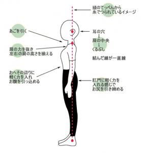 理想的な姿勢